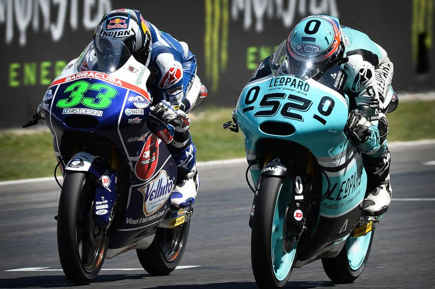 Enea Bastianini, Danny Kent, Gresini Racing Team Moto3, Leopard Racing