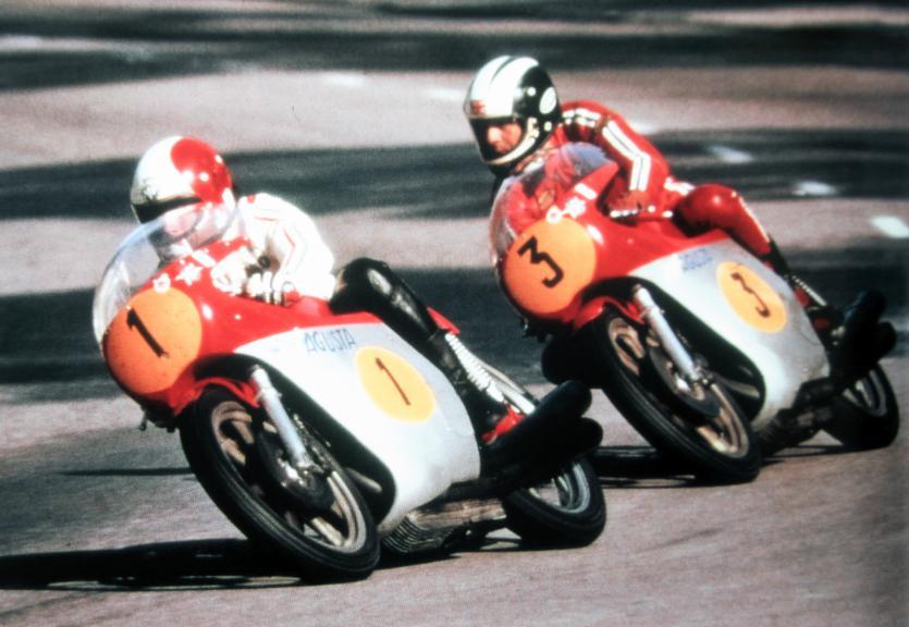 Giacomo  Agostini, Phil Read, 1973
