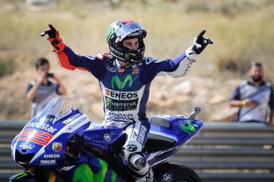 ロレンソ、レジェンドのリードに並ぶ39勝目