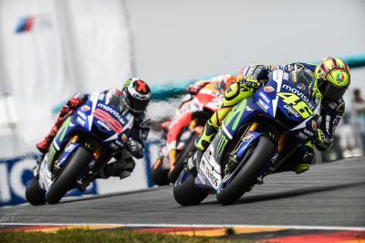 Lorenzo à la poursuite de Rossi au Motegi