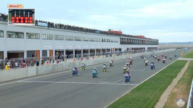 FIM CEV Repsol Navarra: Moto3 Race Highlights