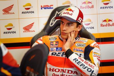 Márquez: «Espero llegar lo más en forma posible»