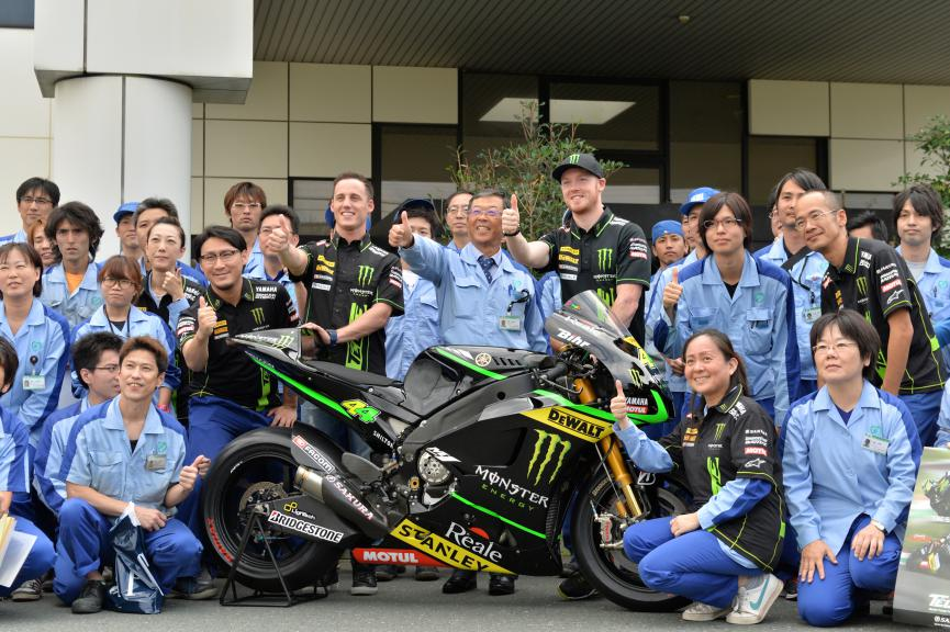 Monster Yamaha Tech3 in Sakura