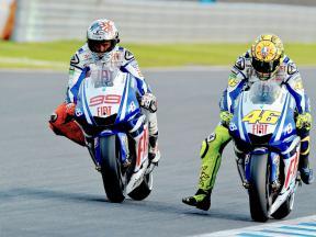 Un nuevo duelo para Rossi y Lorenzo en Motegi