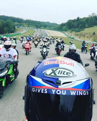Simoncelli remembered by 3,656 motorcyclists at Brno