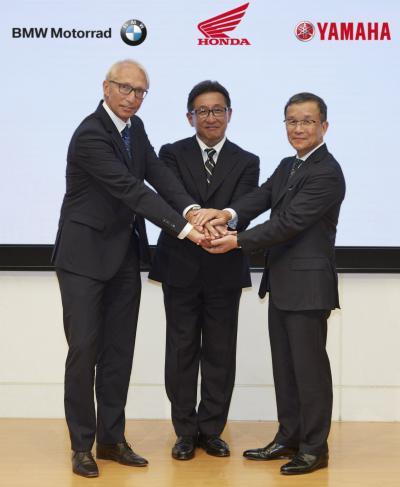 BMW, Yamaha und Honda spannen zusammen