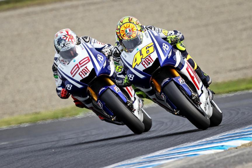 Jorge Lorenzo, Valentino Rossi, Movistar Yamaha MotoGP, Japanese GP 2010