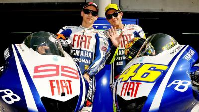 Video Playlist: Rossi & Lorenzo's epic 2010 Motegi Showdown