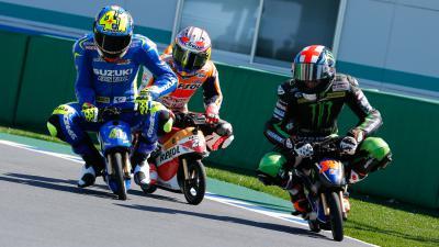 #JapaneseGP : La course des minibikes électriques