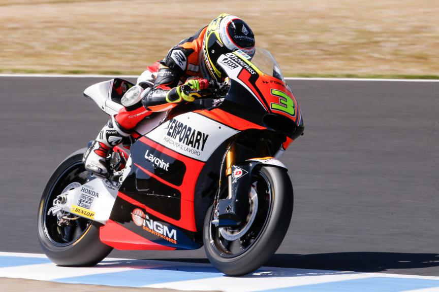 Simone Corsi, Forward Racing, Japanese GP FP2