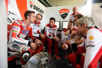 "Dovizioso: ""We managed to improve in both sessions"""