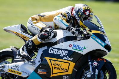 Luthi leads the way in Moto2™ FP1
