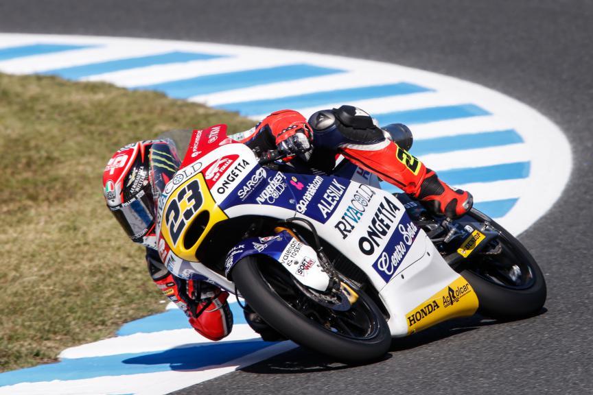 Niccolò Antonelli, Ongetta-rivacold, Japanese GP FP2