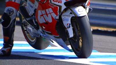 #JapaneseGP: MotoGP™ Free Practice in slow motion