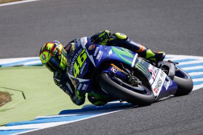 Rossi: «Siempre es difícil mejorar en MotoGP»