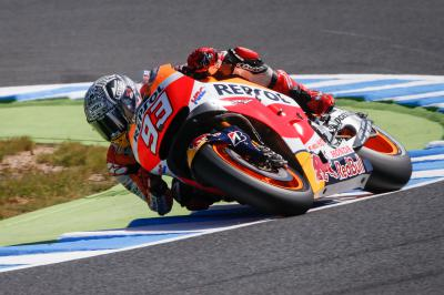 "Marquez: ""I was able to ride correctly and brake late"""