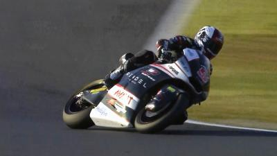 Zarco celebrates Moto2™ title by topping Friday's practice