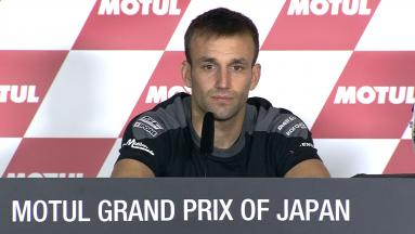 Moto2™ Champion Press conference: Zarco crowned