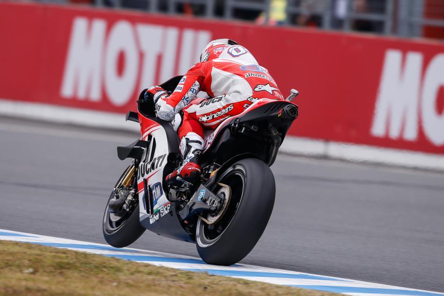 Andrea Dovizioso, Ducati Team, Japanese GP Q2