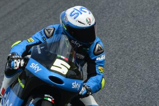Prima pole in carriera per Fenati