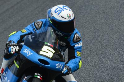 Fenati, pole position de Moto3™ en Motegi