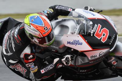 Zarco celebrates Moto2™ title with pole