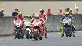 The second Qualifying session of the MotoGP™ World Championship at the #JapaneseGP.