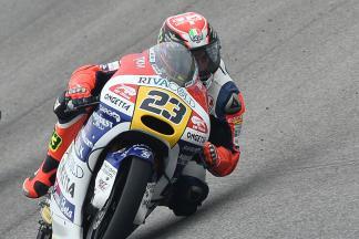 Antonelli ao comando da Moto3™