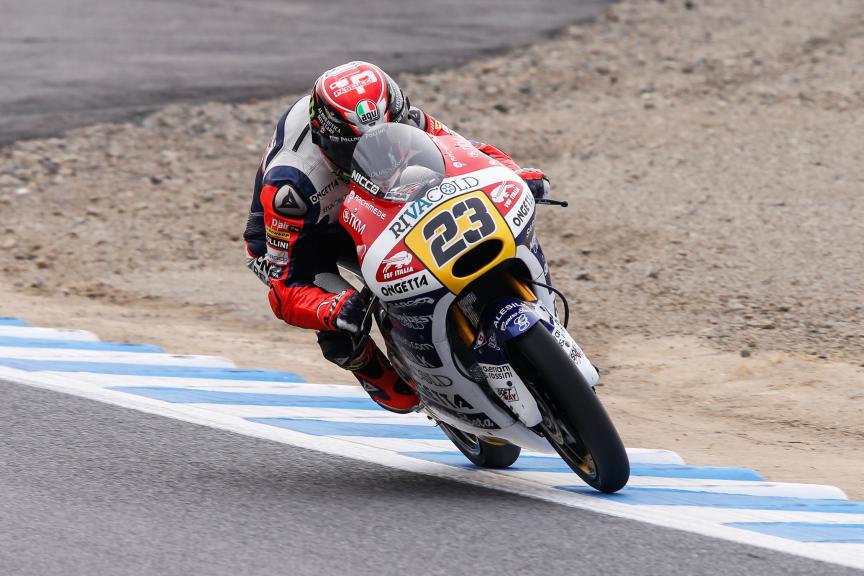 Niccolò Antonelli, Ongetta-rivacold, Japanese GP QP