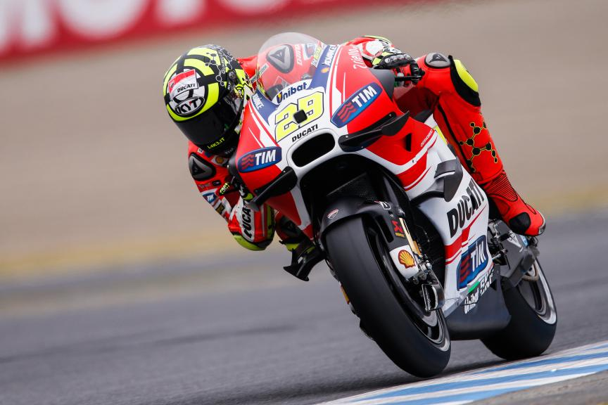 Andrea Iannone, Ducati Team, Japanese GP Q2