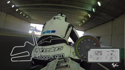 Vuelta OnBoard GoPro™ en el circuito de Motegi