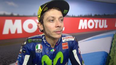 Rossi: «Un sábado muy positivo»