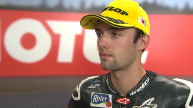 Folger: 'It will be a tough race'