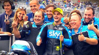 Free Video: Fenati's pole-winning lap
