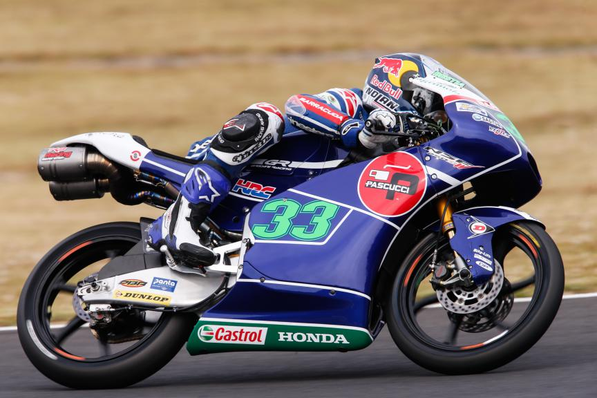 Enea Bastianini, Gresini Racing Team Moto3, Japanese GP QP