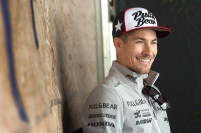 Hayden: «He disfrutado mucho de mi tiempo en MotoGP»