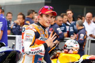 Márquez: «Soy realista, estoy un paso por detrás»