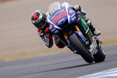 Lorenzo non molla, ma Rossi c'è!