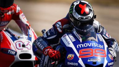 FP4 MotoGP™: Lorenzo erneut mit der Bestzeit