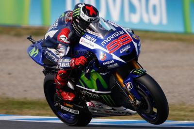 Lorenzo, de nuevo primero en la FP3 de MotoGP™