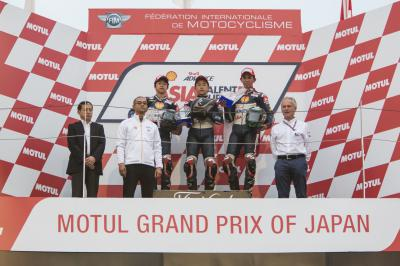 Sasaki takes a great victory at Motegi