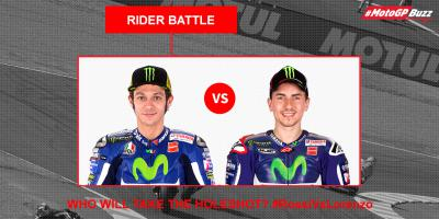 #MotoGPBuzz Rider Battle: Rossi Vs Lorenzo