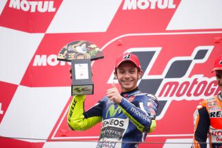 "Rossi: ""It feels like you are in a boat at sea"""