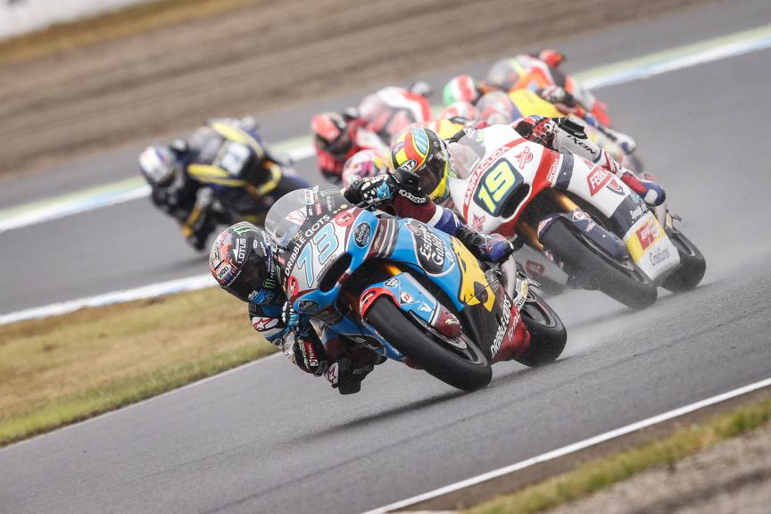 Moto2 Action Japanese GP RACE