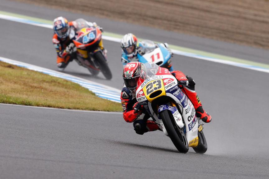 Moto3 Action Japanese GP RACE