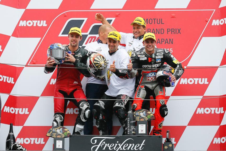Folger, Zarco, Cortese, Ajo Motorsport, AGR Team, Dynavolt Intact GP, Japanese GP RACE