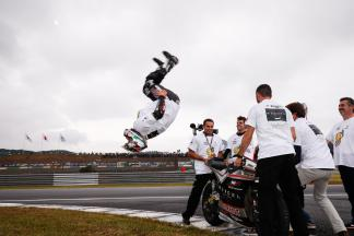 """Zarco: """"The last two laps were not easy"""""""