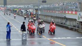 The full Warm Up session for the Moto3™ World Championship at the Japanese GP.