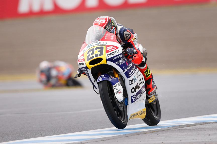 Niccolò Antonelli, Ongetta-rivacold, Japanese GP RACE