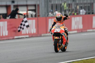 Peerless Pedrosa takes his 50th GP victory at Motegi